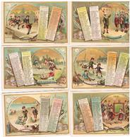 Liebig Serie  De 5 Cartes 1891 Tbe - Liebig