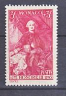 Monaco  193 Prince Honoré III Neuf Avec Trace De Charnière Légère * TB MH CoN CHARNELA  Cote 52.5 - Unused Stamps