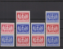 KONT.RAT 1948 ZD SZd1-4 Postfrisch (213663) - American,British And Russian Zone