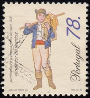 ! PORTUGAL - Scott #2090 Cloth Seller / Used Stamp - Used Stamps