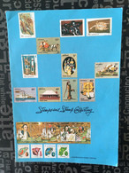 (Box Large - 17-6-2021) Australia - Stamps And Stamp Collecting (8 Pages) 20 G - 16 X 27 Cm - Altri Libri