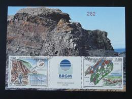 Carte Maximum Card Géologie Geology Saint Pierre Et Miquelon 1995 - Autres