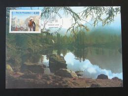 Carte Maximum Card Montagne Mountain Parc National Du Mercantour St-Etienne De Tinée 06 Alpes Maritimes 1996 - 1990-99