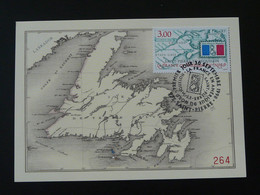 Carte Maximum Card Geographie Carte Map Saint-Pierre Et Miquelon 1998 - Tarjetas – Máxima