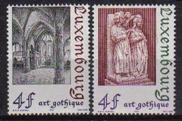 Luxemburg 1974 Gothic Art Y.T. 837/838  ** - Nuovi