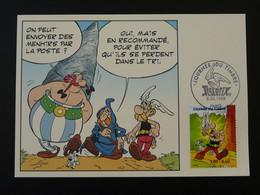 Carte Maximum Card Astérix Journée Du Timbre Paris 1999 (timbre Du Bloc) - Comics