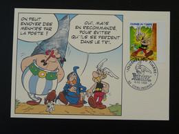 Carte Maximum Card Astérix Journée Du Timbre La Flèche 72 Sarthe 1999 - 1990-99