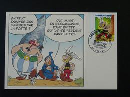 Carte Maximum Card Astérix Journée Du Timbre Stenay 55 Meuse 1999 - Comics