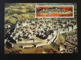 Carte Maximum Card Cité De Carcassonne Medieval 11 Aude 2000 - 2000-09