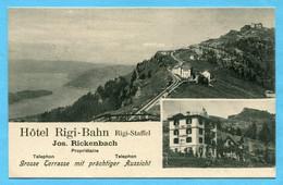 Werbung Hotel Rigi-Bahn, Rigi-Staffel 1903 - SZ Schwyz