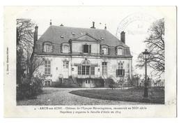 Arcis Sur Aube, Chateau De L'époque Mérovingienne (11022) - Arcis Sur Aube