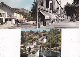LOT/091........6 CPSM DE48....VILLAGES - 5 - 99 Postcards