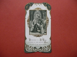 IMAGE PIEUSE / RELIGIEUSE  C MOREL 536  SOUVENIR DE MA PREMIERE COMMUNION ST PHILIPPE DU ROULE 1911 MARGUERITE BOULANGER - Devotion Images