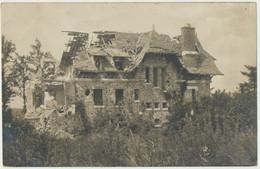 51) Carte-Photo Allemande : SERVON - Villa Bombardée (1.WK - WW1) - Andere Gemeenten