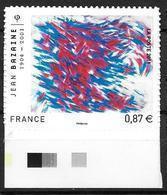France 2011 Adhésif N° 550 Neuf Jean Bazaine Cote 7 Euros - KlebeBriefmarken
