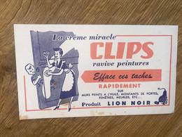 BUVARD CLIPS - Produits Ménagers
