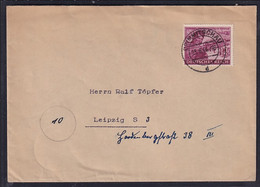 DR., Fernbrief Mit EF Mi.-Nr. 890 - Unclassified