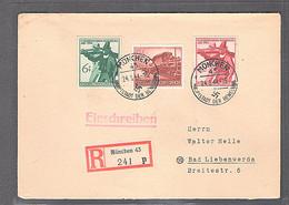 DR. Mi.-Nrr. 897-898  Auf R-Satzbrief Mit Ak-St - Unclassified
