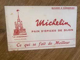 BUVARD MICHELIN LE JACQUEMART - Pain D'épices