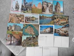 LOT  DE  47     CARTES   POSTALES   NEUVES   DE  LA   SAONE   ET  LOIRE - 5 - 99 Postcards