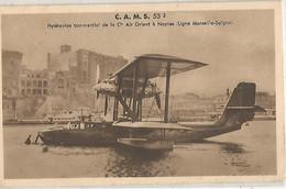 CAMS HYDRAVION COMMERCIAL DE LA CIE AIR ORIENT A NAPLES LIGNE MARSEILLE SAIGON - Unclassified