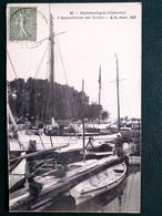 14, Ouistreham ,l'appontement Des Yachts  En 1922 - Ouistreham