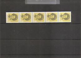 Pays-Bas ( 1184a En Bande De 5 Numérotée XXX -MNH) - Postzegelboekjes En Roltandingzegels