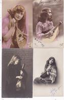LOT/095.......10 CPA Sur La MANDOLINE - 5 - 99 Postcards