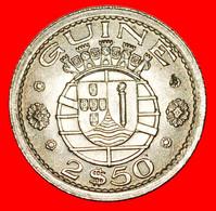 • PORTUGAL: GUINEA ★ 2.5 ESCUDOS 1952 UNCOMMON! ALFONSO V (1438-1481) LOW START ★ NO RESERVE! - Guinea-Bissau