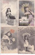 LOT/096.......10 CPA BERGERET...BONNE ANNEE - 5 - 99 Postcards