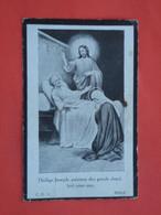 Engel Gouwy - Sohier Geboren Te Te Wytschaete - Wijtschate 1869 Overleden  1926  (2scans) - Religion & Esotericism
