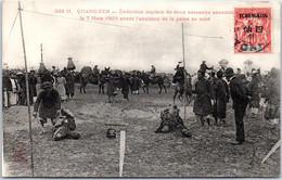 INDOCHINE - QUANG YEN - Exécution De Deux Assassins [07.03.1905] - Vietnam
