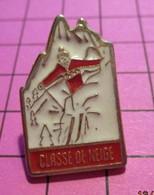 312a Pin's Pins / Beau Et Rare / THEME : ADMINISTRATIONS / CLASSE DE NEIGE S'amuser Au Lieu De Bosser.. Vive Le Mamouth - Amministrazioni