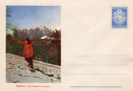 ROMANIA 1959: SKIING, MOUNTAIN LANDCAPE, Unused Prepaid Cover 748/1959 - Registered Shipping! - Entiers Postaux