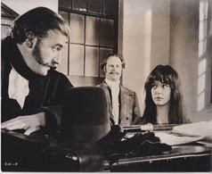 Pamela Franklin And Nigel Davenport   SINFUL DAVEY 1969 +-20.5*25cm JOHN HUSTON FILM DIRECTOR CINEMA - Beroemde Personen