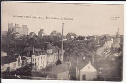 ALLIER - BOURBON-L'ARCHAMBAULT - Les Ruines - Le Moulin - Bourbon L'Archambault