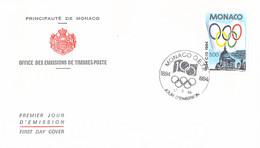 Monaco FDC 1994 IOC Centenary  (G132-14) - Other