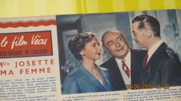 Fernand GRAVEY / LE FILM VECU N° 24 / CINEMONDE 1950 - Cinéma/Télévision