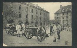 25 - Besançon - Régiment D'Artillerie - Manoeuvre De La Pièce De 120 Court - Besancon