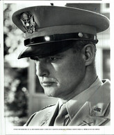 Marlon Brando As Major Weldon Penderton  REFLECTIONS IN A GOLDEN EYE 1967 +-20*25.5cm JOHN HUSTON FILM DIRECTOR CINEMA - Beroemde Personen