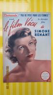 Simone RENANT / LE FILM VECU N° 27 / CINEMONDE 1950 - Cinéma/Télévision