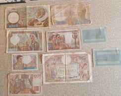Lot 9 Billets France. - Other