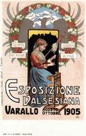 CPA - VARALLO SESIA, 1905 - Esposizione Valsesiana - Commemorativa, Commémoration - NV - PU717 - Pubblicitari