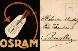 CPA - Lampadine OSRAM - Pubblicitaria, Publicité, Advertising - Scritta - PU719 - Pubblicitari