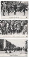 Paris 15 Cpa Défilé 14 Juillet 1919 Troupes Diverses Pétain Joffre Arc Triomphe état Superbe - Arc De Triomphe