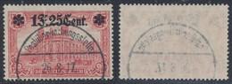 "Guerre 14-18 - OC36 Obl à Pont ""Postüberwachungsstelle"" (1917) + Pli Accordéon. RR - [OC1/25] General Gov."