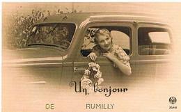 74 UN BONJOUR  DE  RUMILLY   CPM  TBE   60 - Rumilly