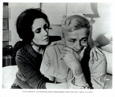 Brian Keith And Elizabeth Taylor REFLECTIONS IN A GOLDEN EYE 1967 +-20*25.5cm JOHN HUSTON FILM DIRECTOR CINEMA - Beroemde Personen