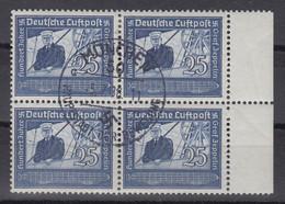 Deutsches Reich Zeppelin Mi.-Nr. 669 Randviererblock O. ANSEHEN - Zonder Classificatie