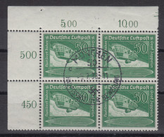 Deutsches Reich Zeppelin Mi.-Nr. 670 Eckrandviererblock O. ANSEHEN - Zonder Classificatie